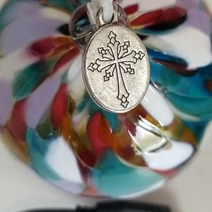 NWT Handblown glass Christmas ornament